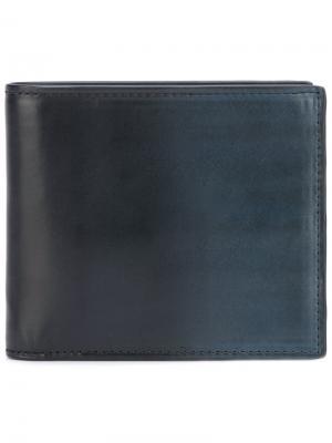 Складной бумажник Boundin Officine Creative. Цвет: синий