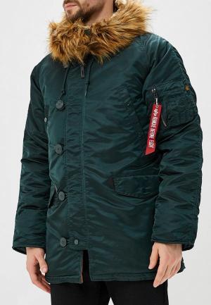 Куртка утепленная Alpha Industries N3B VF 59. Цвет: зеленый