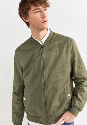 Куртка Springfield. Цвет: зеленый
