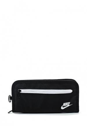 Кошелек Nike HERITAGE LONG WALLET NS. Цвет: черный