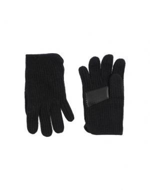 Перчатки MARIO PORTOLANO. Цвет: черный