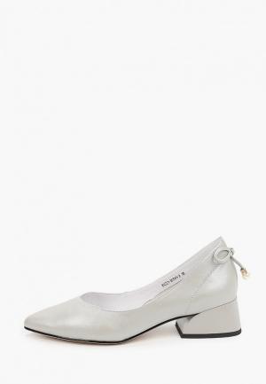 Туфли Covani. Цвет: серый