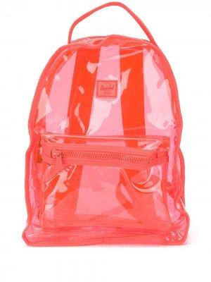Прозрачный рюкзак Herschel Supply Co.. Цвет: оранжевый