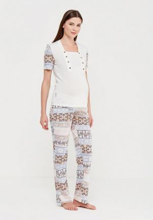 Пижама Euromama. Цвет: разноцветный