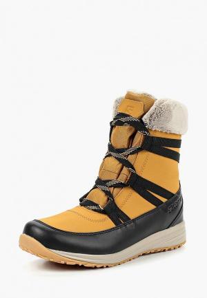 Ботинки Salomon HEIKA LTR CS WP. Цвет: бежевый