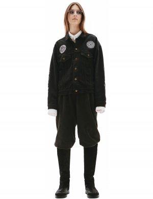 Джинсовая куртка с патчами Children of the discordance