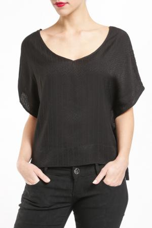 Блуза Axara. Цвет: черный