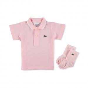 Детский костюм Lacoste. Цвет: розовый