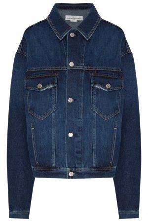 Синяя джинсовая куртка Demi Golden Goose Deluxe Brand. Цвет: синий