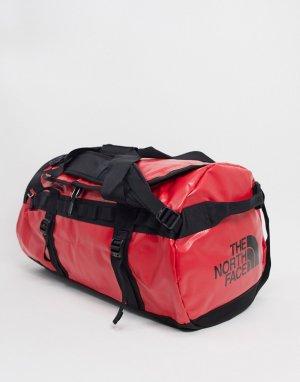 Спортивная сумка среднего размера в черном и красном цвете Base Camp-Черный The North Face
