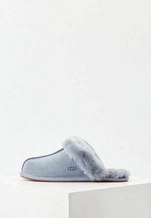 Тапочки UGG. Цвет: серый