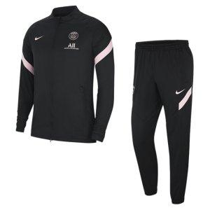 Мужской футбольный костюм Dri-FIT Paris Saint-Germain Strike Away - Черный Nike