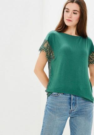 Блуза United Colors of Benetton. Цвет: зеленый