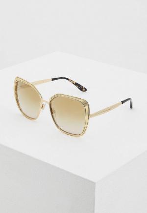 Очки солнцезащитные Dolce&Gabbana DG2197 02/6E. Цвет: золотой