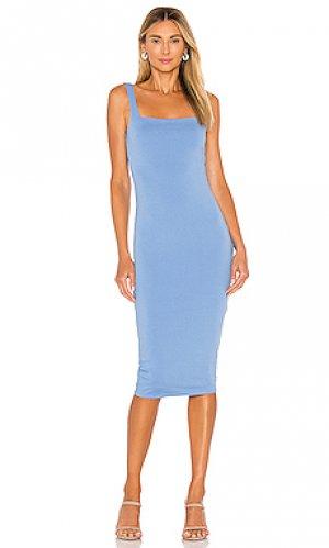 Платье donatella Lovers + Friends. Цвет: синий