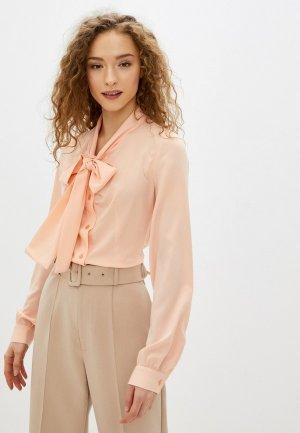 Блуза Imago. Цвет: розовый