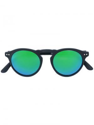 Солнцезащитные очки Cavour Spektre. Цвет: чёрный