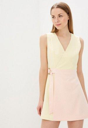 Платье Elena Andriadi. Цвет: разноцветный
