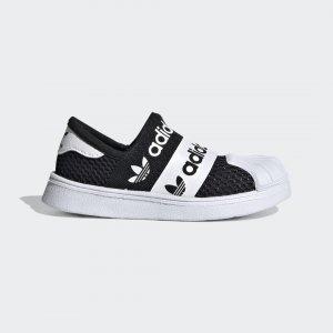 Кроссовки-слипоны Superstar SMR 360 Originals adidas. Цвет: черный
