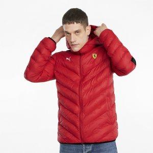 Куртка Scuderia Ferrari Race T7 EcoLite Mens Jacket PUMA. Цвет: красный