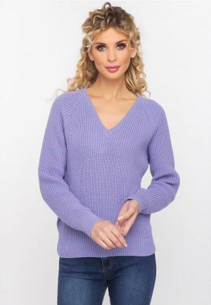 Пуловер Gloss. Цвет: фиолетовый