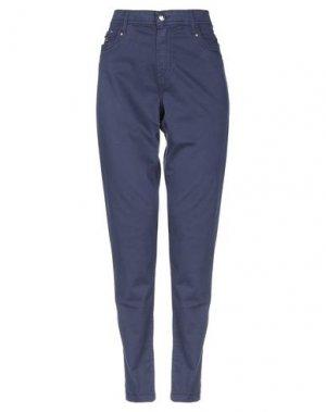 Повседневные брюки FUEGO WOMAN. Цвет: темно-синий