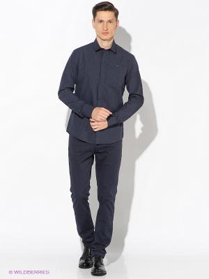 Брюки Calvin Klein. Цвет: синий