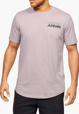 Футболка Under Armour UA BASELINE PHOTOREAL GRAPHIC TEE. Цвет: розовый