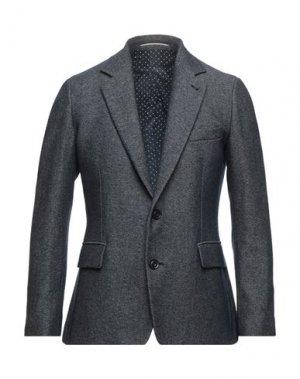 Пиджак MAESTRAMI. Цвет: темно-синий