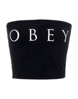 Бюстье OBEY. Цвет: черный