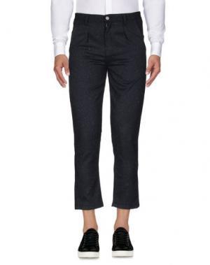 Повседневные брюки ANERKJENDT. Цвет: темно-синий