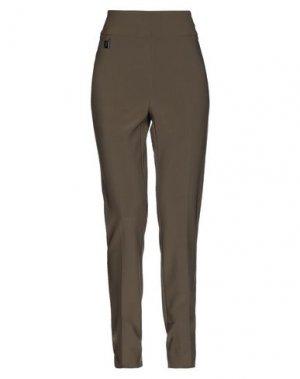 Повседневные брюки JOSEPH RIBKOFF. Цвет: зеленый-милитари