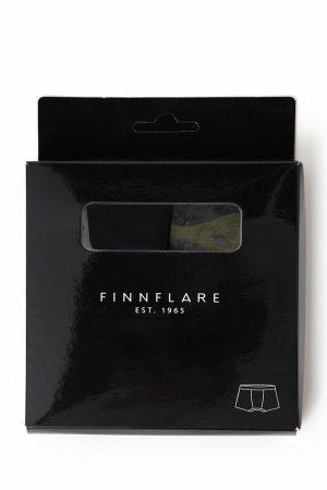 Трусы мужские Finn-Flare. Цвет: черный/синий кобальт
