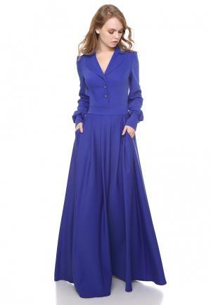 Платье Marichuell JOZEFINA. Цвет: синий