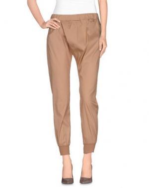 Повседневные брюки ANIYE BY. Цвет: песочный