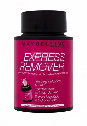 Средство для снятия лака Maybelline New York с экстрактом миндяля, 75 мл. Цвет: прозрачный