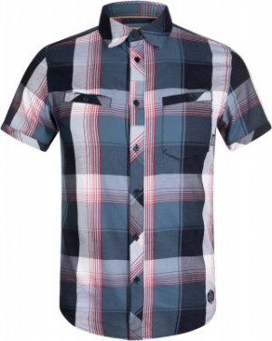 Рубашка с коротким рукавом мужская , размер 54 Merrell. Цвет: синий
