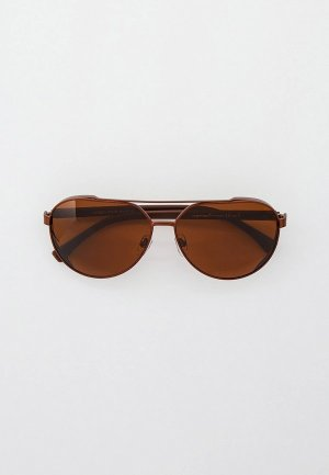 Очки солнцезащитные Matrix MT8651, с поляризационными линзами. Цвет: коричневый