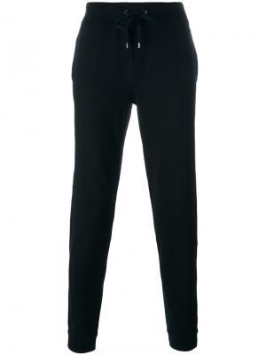 Классические спортивные брюки Michael Kors. Цвет: чёрный