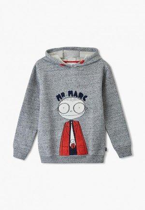 Худи Little Marc Jacobs. Цвет: серый