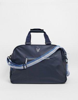 Дорожная сумка -Темно-синий Lyle & Scott