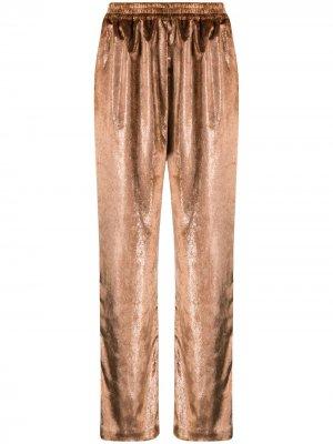 Прямые брюки Gianluca Capannolo. Цвет: нейтральные цвета