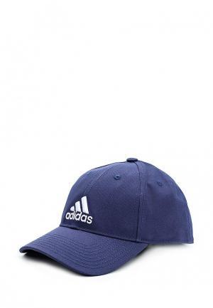 Бейсболка adidas 6P CAP COTTON. Цвет: синий