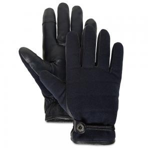 Мелкая и кожаная галантерея Quilted Woll Back Glove Timberland. Цвет: темно-синий