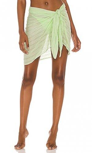 Парео lia Vix Swimwear. Цвет: зеленый