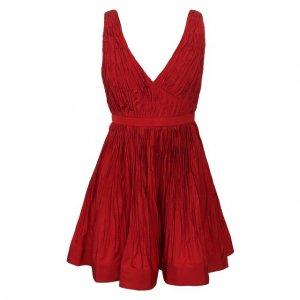 Платье Alexis. Цвет: красный