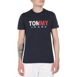 Футболка DM0DM07440 темно-синий TOMMY JEANS