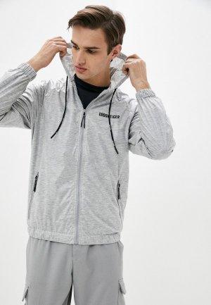 Куртка Urban Tiger. Цвет: серый