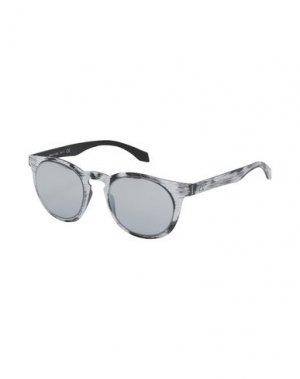Солнечные очки ALSTECA. Цвет: белый
