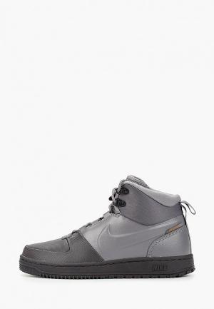 Кеды Nike PATH WNTR. Цвет: серый